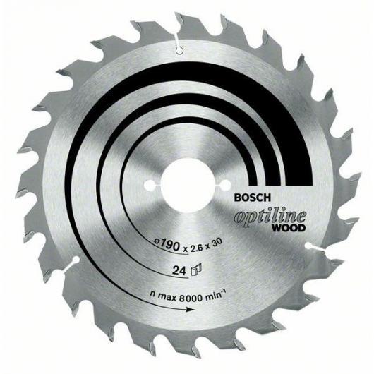 Disco da taglio legno per sega circolare 184x30 mm
