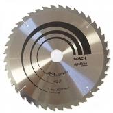 Disco de corte madeira para serra de esquadra 254x30 mm