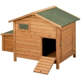 Berlin wooden chicken coop