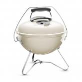 Barbacoa Smokey Joe Premium Ø 37 cm ivory white Weber