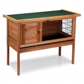 Malta wooden rabbit hutch