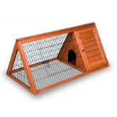Tuscany wooden rabbit hutch