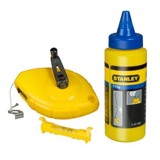 Kit Stanley® 30 m + poudre + niveau à chaîne