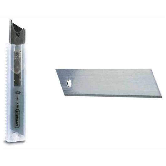 10 lames de cutter 18 mm
