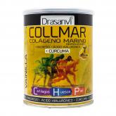 Collmar Colagénio marinho com cúrcuma e sabor a baunilha, Drasanvi, 300g