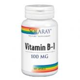 B1 100 mg Solaray, 100 capsule