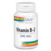 B2 100 mg Solaray, 100 capsule
