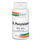 DL-phenylalanine 500 mg Solaray, 60 capsule
