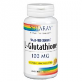 L-glutatione 100 mg Solaray, 30 capsule
