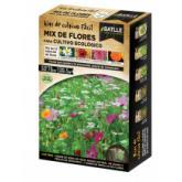 Kit de cultivo mix flores para cultivo biológico