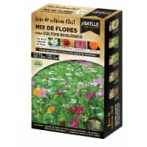 Kit di coltivazione MIx di Fiori per coltivazione biologica