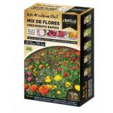 Kit de cultivo mix flores de crescimento rápido