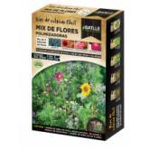 Kit de cultivo mix flores polinizadores