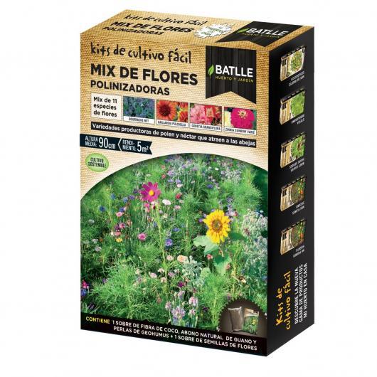 Kit de culture mélange de fleurs pour pollinisateurs