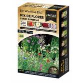 Kit cultivo mix flores lugares sombríos