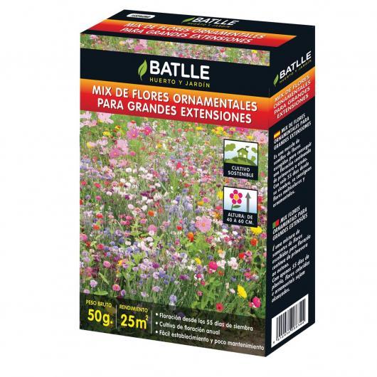 Kit cultivo Mix Flores Ornamentales para Grandes extensiones