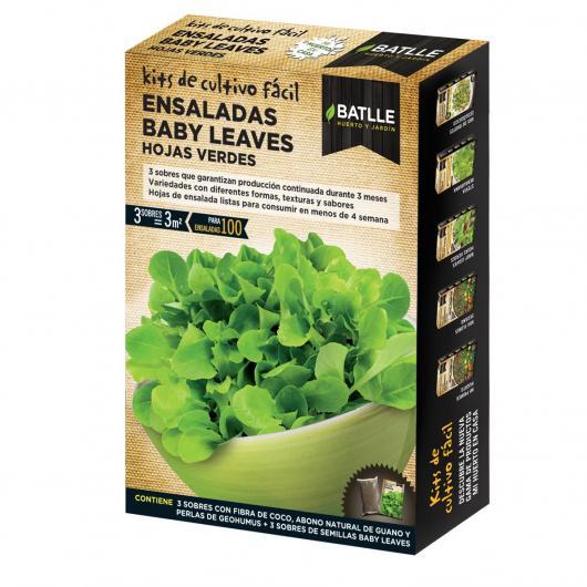 Kit Ensalada baby leaves Hojas Verdes