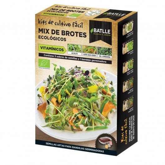 Kit de culture mélange de pousses vitaminées