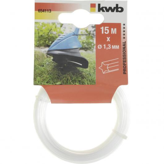 Hilo de nylon 1,3 mm Kwb