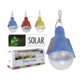 4 lampade LED medaglioni solari