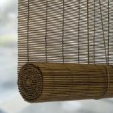 Tenda a rullo in bambù naturale