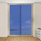 Zanzariera velcro c/magnete per porte e finestre, Habitex