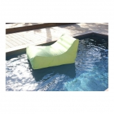 Poltrona Kiwi para piscina, verde