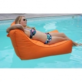 Poltrona Kiwi para piscina, laranja