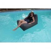 Poltrona Kiwi para piscina, cinzento