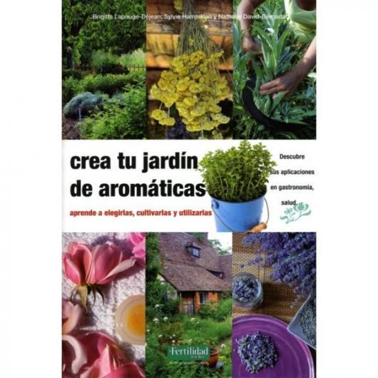Crea tu jard n de arom ticas por 23 50 en planeta huerto for Crea tu jardin