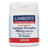 Complesso Lactasa 9000 FCC Lamberts, 60 tavolette