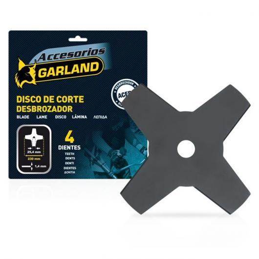 Disque de coupe Garland à 4 dents 230 mm
