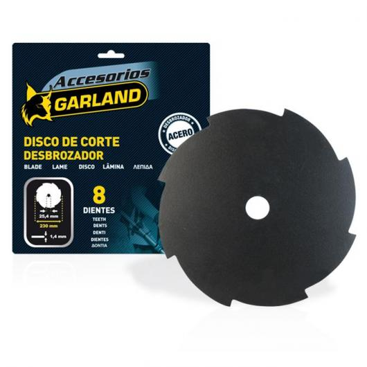 Disque de coupe Garland à 8 dents 230 mm