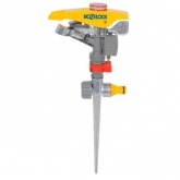 Irrigatore a canna fissaggio metallico e aggiustamento di irrigazione regolabile Hozelock