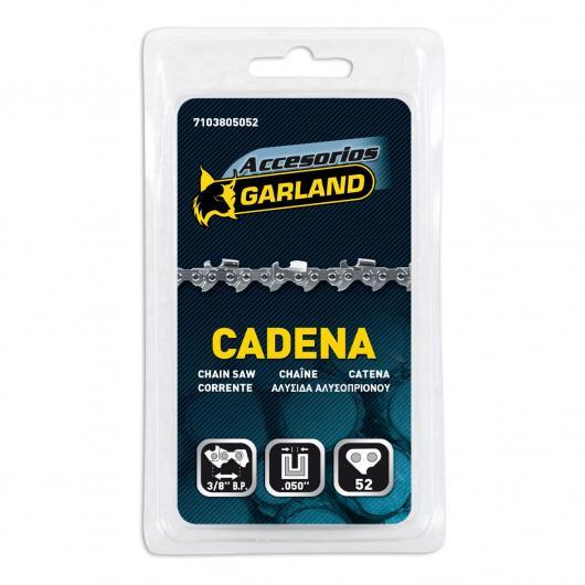 Cadena para motosierra 52 eslabones 3/8 BP 0,050 Garland