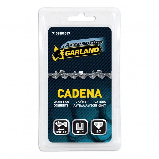 Cadena para motosierra 57 eslabones 3/8 BP 0,050 Garland