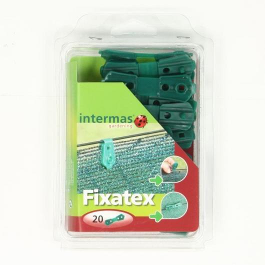 Clip per fissaggio rete Fixatex 20 unità