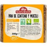 Pane di segale e muesli Natursoy, 300 g