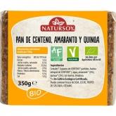 Pane di segale, amaranto e quinoa Natursoy, 350g