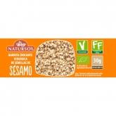 Barretta croccante con semi di sesamo, Natursoy, 30 g