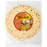 Tortilla di Chia 2 ud, Natursoy, 180g