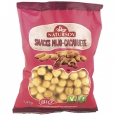 Snack miglio e arachidi Natursoy, 120 g