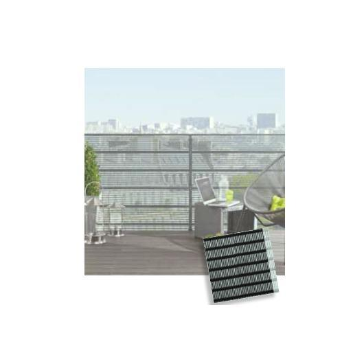 Rete oscurante balcone antracite Citynet