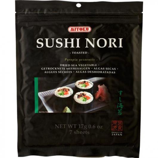 Algue Nori spécial sushis, 17 g Mitoku