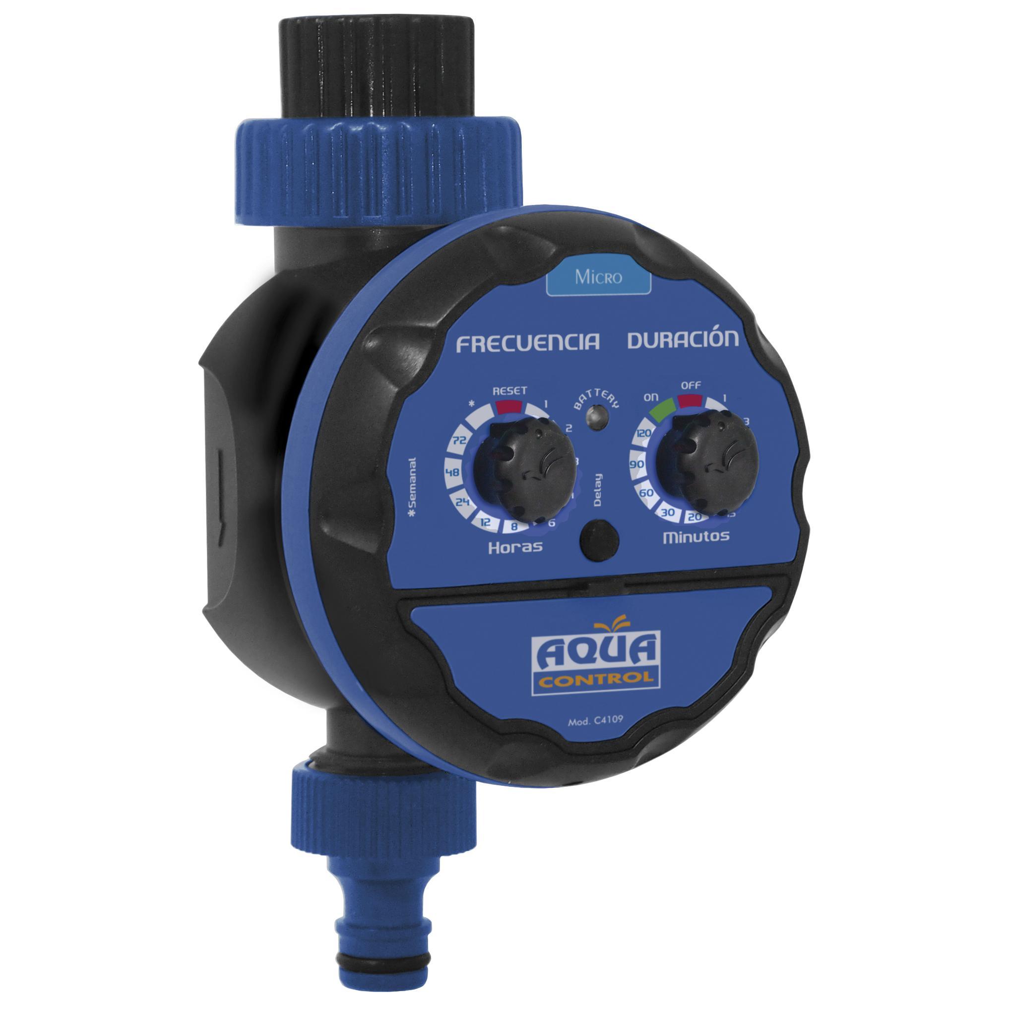 Programador de riego acorazado estanco aquacontrol por 29 - Programador para riego ...