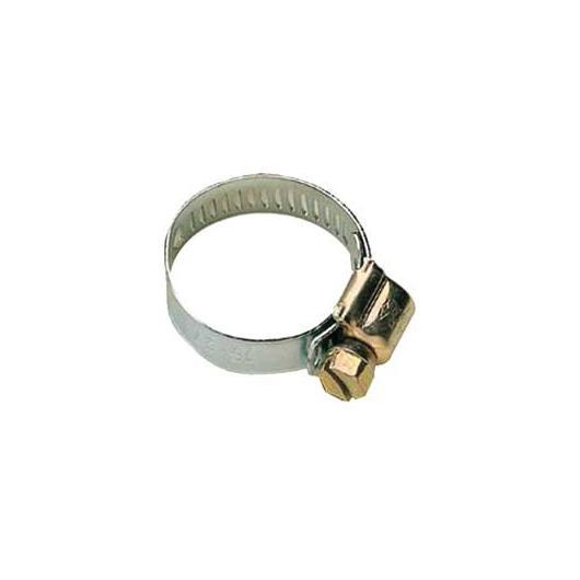 Abrazadera de metal 16 mm, 4 ud