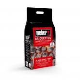 Saco Briquetas de Carbón 4 Kg Weber