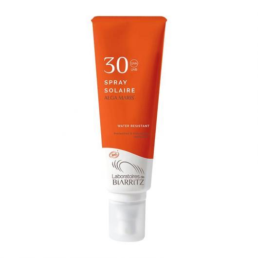 Spray protector cara & cuerpo  SPF 30 Alga Maris, 125 ml.