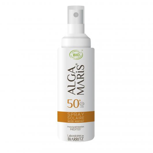 Spray protector cara  & cuerpo  SPF 50 Alga Maris, 125 ml.