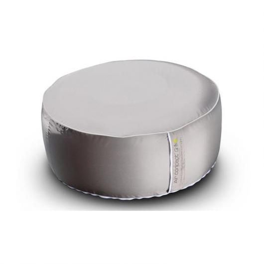 Pouf extérieur gris brun 55 cm AIR CONCEPT